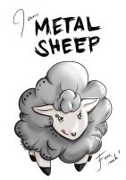Metal Sheep - Sketch 1 by neon-kun