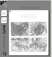 Brush Pack - Maps by MouritsaDA-Stock