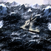 Lost at Sea by Angelman8