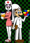 Nurse Whitnee and Dr. Mario by CaseyDecker