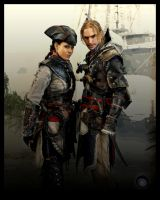 AC - Black Flag crosses Liberation at F.A.C.T.S.13 by RBF-productions-NL