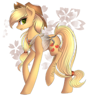 Spring Apple + Speedpaint by Invisible-11