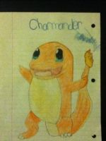 Charmander from pokemon :3 by XanderCakes