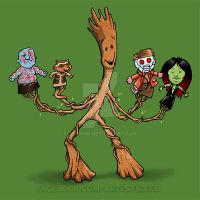 We Are Groot by jimspon
