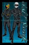 Daft Punk by DeanGrayson