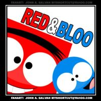 FOSTERS quicky Red n Bloo by SynDuo