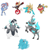 League of Legends: character dump by TotemHead