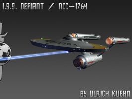 STAR TREK - BREAKABLE: ISS DEFIANT - Phasers by ulimann644
