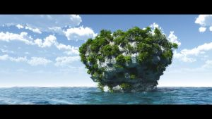 In the Middle of Ocean IV by hoangphamvfx