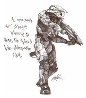 Master CHief by lM12l