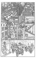 Page Four Finished Inks Smler by godzillasmash