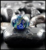 Into the Deep - Glass Lampwork Bead by andromeda