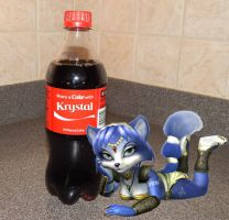 Share a Coke with... KRYSTAL! by FoxMcCloudFF7