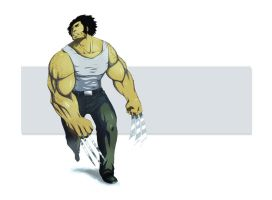 WOLVERINE IS BADAASS by kirogi-dog