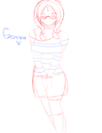 Geniva sketch by YingyArt