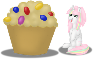 AB: Giant Cupcake by Queenga