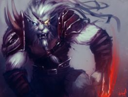 Rengar  Ready to Fight by AthavanArt
