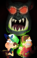 Gravity Falls by YourMomJK