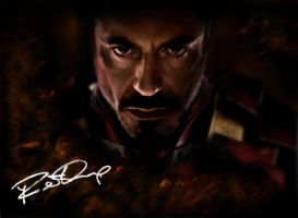 Iron Man Poster, Rust by samygeorge