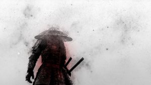 Samurai Wallpaper by NIHILUSDESIGNS