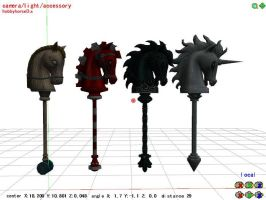 mmd Hobby Horse by 0-0-Alice-0-0