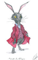 The  March  Hare by DemonCartoonist