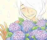 hydrangeas by Christythecat123