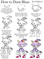 How to Draw Blaze Full Body by TikalLover