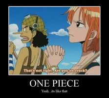 One Piece Demotivational by CheshireCaterling