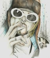 Kurt Cobain by GeorgiaVictoria