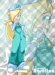 Plumber Rosalina by Darkness1999th