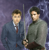 Lancelot and The Doctor by tjevo9