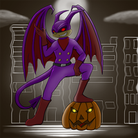 The Jersey Devil by dragonfire1000