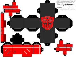 Cubee - Autobot by CyberDrone