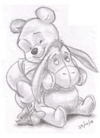 pooh and eeyore by Disney83