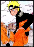 Naruto at the Sand Version 2 by solarwind06