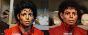 Old MJ bust comparison by godaiking