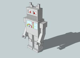 Old-Fashioned Robot by vl2r