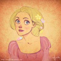 Rapunzel by anro22