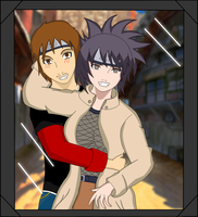 Matthew and Anko colored by gamemaster8910