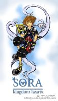 Kingdom Hearts 2 - Sora by J4ne-d-C4t