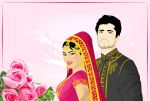 Groom and Bride by ArsalanKhanArtist