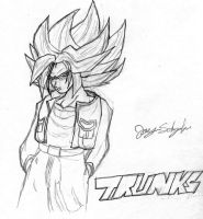 Trunks 3rd Grade by TwistedPurple