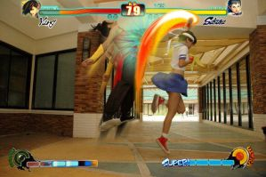 SF4: Flame punch Shoryuken by kasaikun16