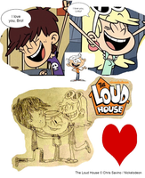 The Loud House - Leni and Luna Truly Loves Lincoln by Bart-Toons