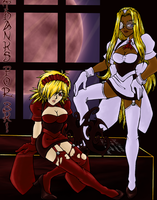 Hellsing Maids: Thanks for 3k by Melfina-chan