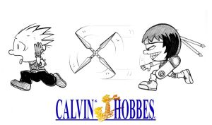 FF Calvin and Susie by 47ness