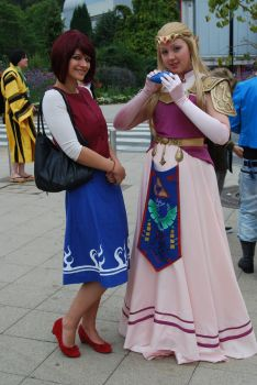 AyaCon 2011 - Legend of Zelda | Zelda and Anju by FifiMcFu