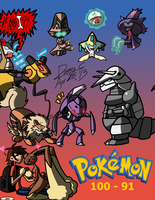 List Time! Favorite 100 Pokemon: Part 1 by Blu3Danny