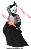 Asajj Ventress BBW by ProfessorDoctorC